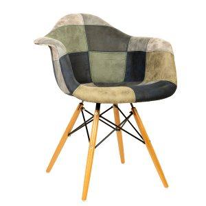 כסא עם ידיות מרופד דגם בייסיק 2