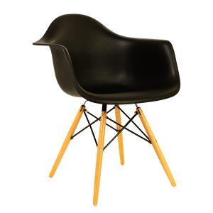כסא מפלסטיק עם ידיות דגם בייסיק פלוס