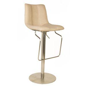 כסא בר עם בוכנה דגם באסקט בר