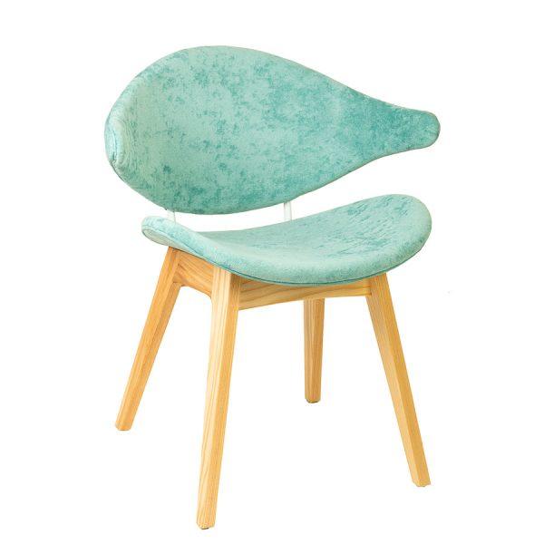 כסא מעוצב מעץ דגם ליליאן