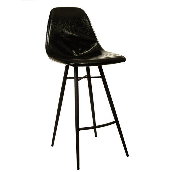 כסא בר מעוצב במראה וינטאז' דגם סיאטל בר