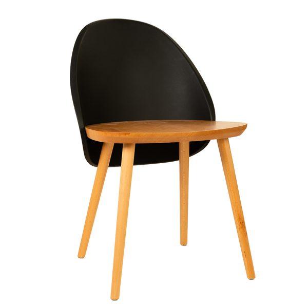 כסא עץ בעיצוב מודרני דגם עמנואל