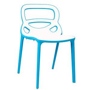 כסא פלסטיק נערם בעיצוב מודרני דגם רוז