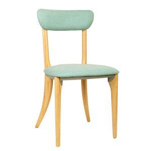 כסא פינת אוכל מעץ בעיצוב כפרי דגם טולי
