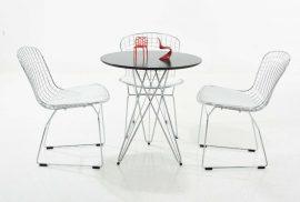 לבן בעיצוב הבית | כסאות לבנים | קאסיאס ישראל