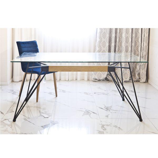 שולחן לפינת אוכל מזכוכית דגם סטודנט
