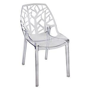 כסא מעוצב מפוליקרבונט דגם טרי