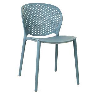 כסא פלסטיק צבעוני דגם מונאקו