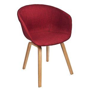 כסא עם ידיות בעיצוב מודרני דגם מישל
