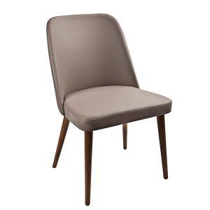 כסא לפינת אוכל מרופד דמוי עור דגם סופיה