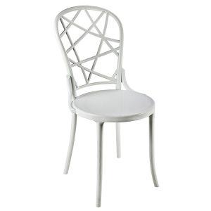 כסא מעוצב מפוליקרבונט דגם ספיידר