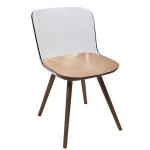 כסא עץ בעיצוב מודרני דגם פאליני