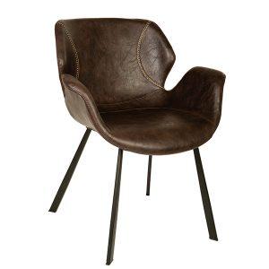 כסא מעוצב לבית או לעסק עם ידיות דגם פרינס