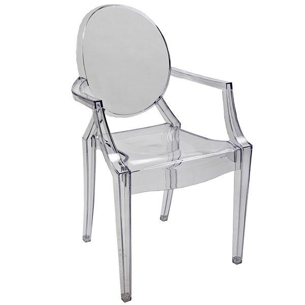 כסא לילדים שקוף דגם רויאל