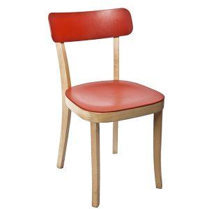 כסא עץ בעיצוב רטרו דגם רומא