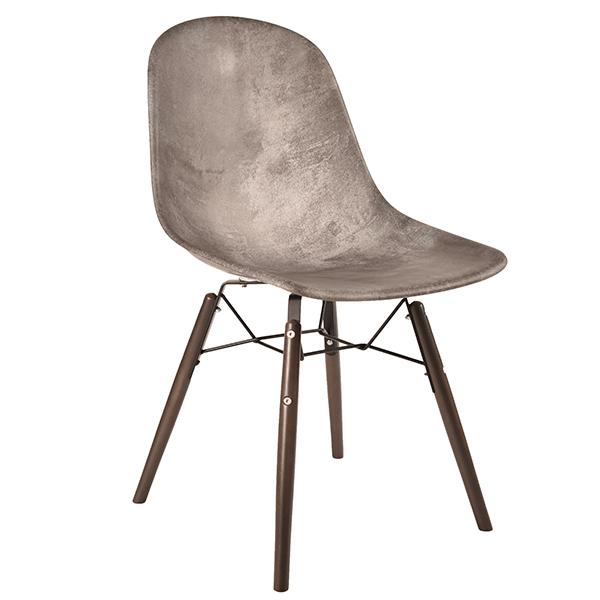 כיסא מפלסטיק מעוצב דגם בייסיק מארבל