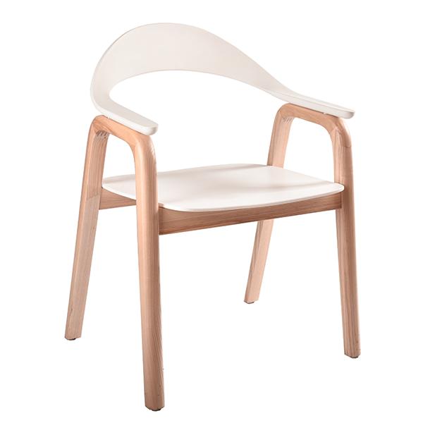כסא למטבח או למשרד מעץ דגם וינה