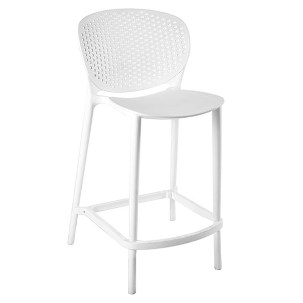 כיסא בר מעוצב מפלסטיק דגם מונאקו