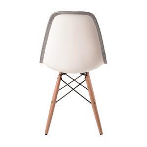 כסא לפינת אוכל מרופד בעיצוב מודרני דגם טינו
