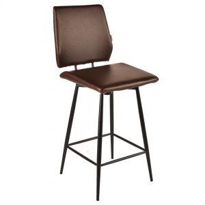 כסא בר בעיצוב מודרני מסתובב דגם יוליה בר