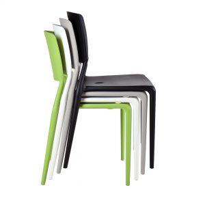 כסא פלסטיק (פולי פרופילן ) נערם דגם רוג'ר