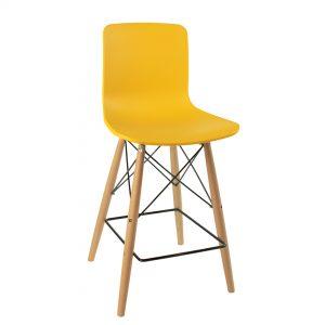 כסא בר מפלסטיק בעיצוב מודרני דגם רסט בר