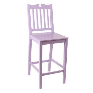 כסא בר מעץ דגם ברק בר במבחר צבעים