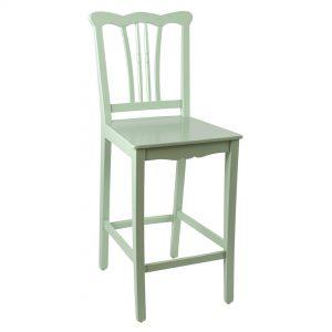 כסא בר מעץ דגם ברצלונה בר