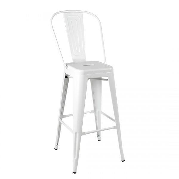כסא בר מתכת דגם ג'ורג' בר