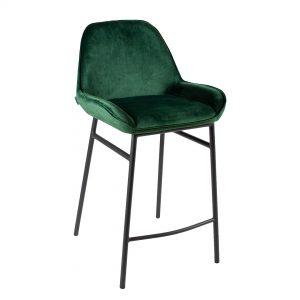 כיסא בר מרופד בד דגם דייגו בר
