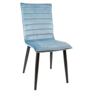 כסא לפינת אוכל מרופד דגם סנדי
