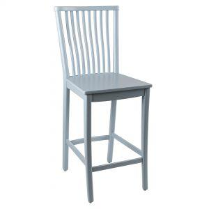 כסא בר מעץ דגם רומי בר