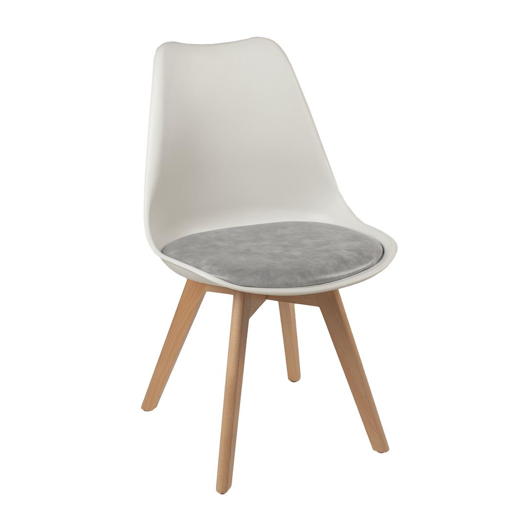 כסא פלסטיק בשילוב כרית דגם עדן