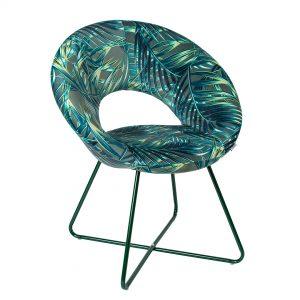 כסא-כורסא מודרני דגם ריצ'י ירוק בוטני