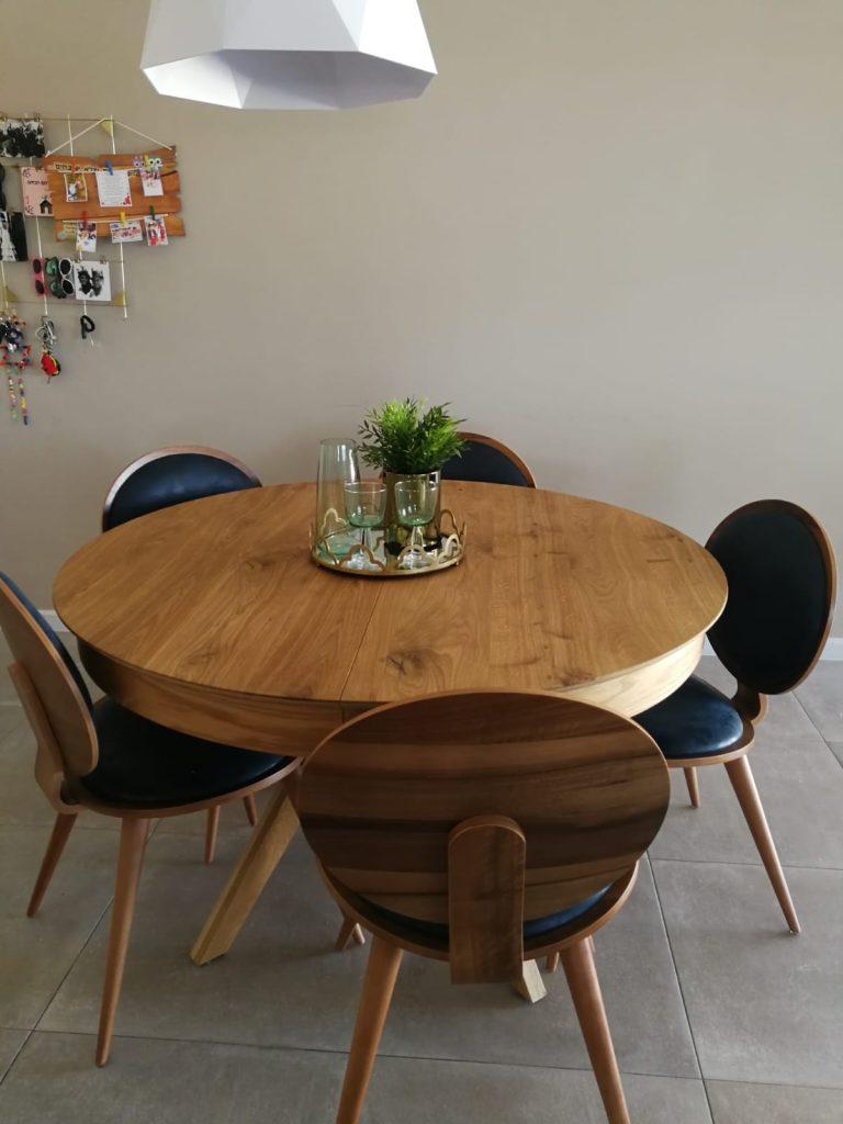 שולחן לפינת אוכל מעץ מלא