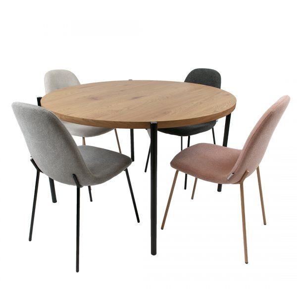 שולחן עגול לפינת אוכל דגם רייס